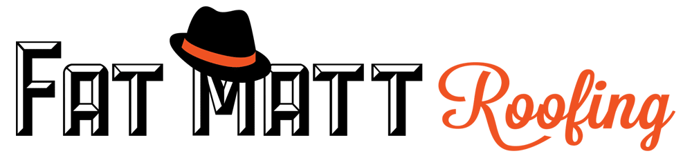 Fat Matt Roofing Retina Logo